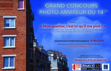 Grand Concours Photo Amateur du 14ème